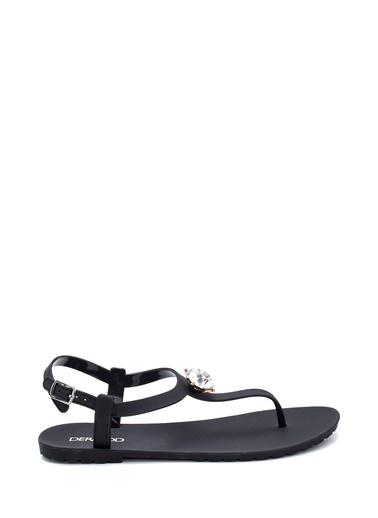 Derimod Kadın Sandalet(M20S1440-4) Casual Siyah